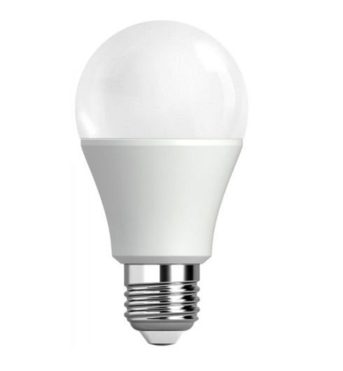 Lâmpada Bulbo LED A60 5W Bivolt Branca - Branco Quente 3000K