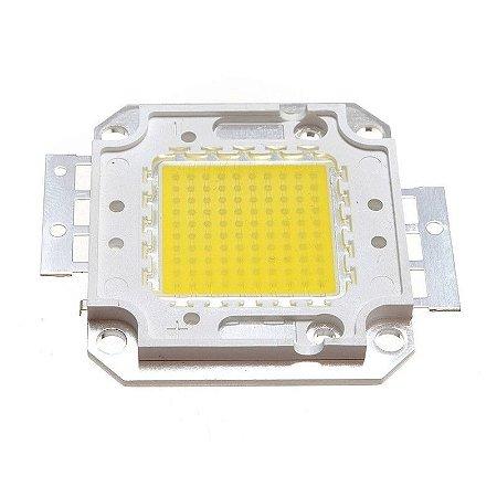 Chip de Refletor LED 50w Branco Quente 3000K - Reposição
