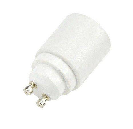 Adaptador Soquete GU10 P/ Lâmpada E27 LED