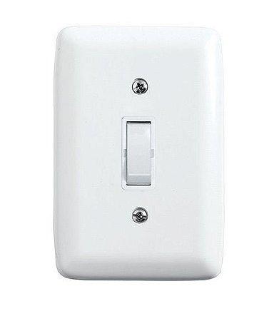 Interruptor Paralelo de Embutir 10A Branco