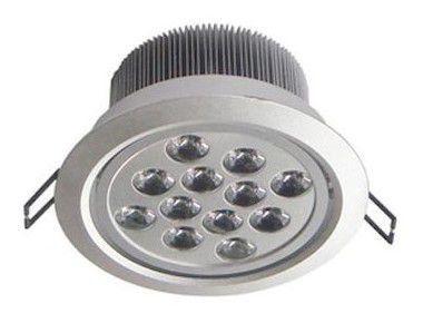 Spot Dicróica 12w LED Redondo Direcionável Corpo Aluminio Branco Frio 6000k