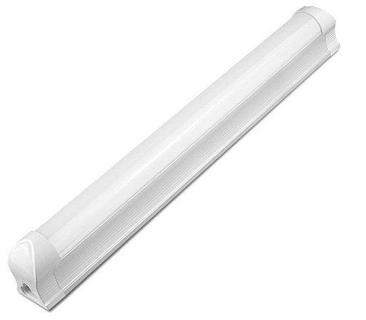 Lâmpada LED Tubular T8 18W 1,20m c/ Calha - Branco Frio 6000k