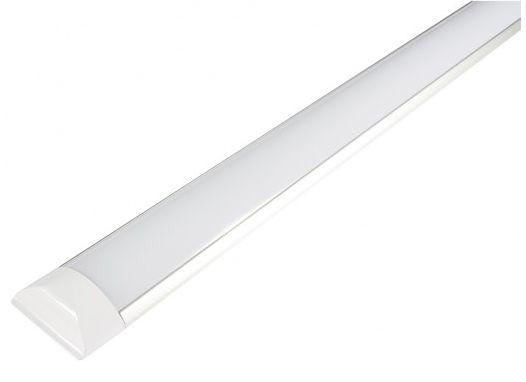 Luminária Tubular Led 72W 240cm de sobrepor Slim Branco Frio 6000k