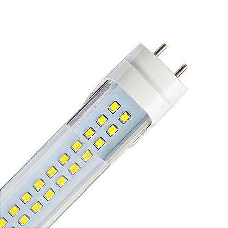 Lâmpada LED Tubular T8 18W 1,20m Cristal - Branco Quente 3000K