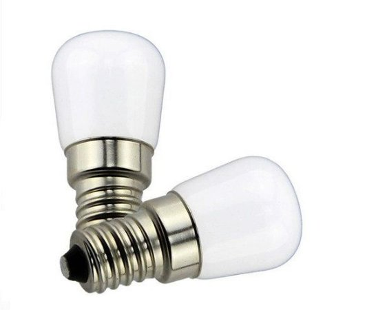 Lâmpada LED Para Geladeira 3w Branco Quente 3000K