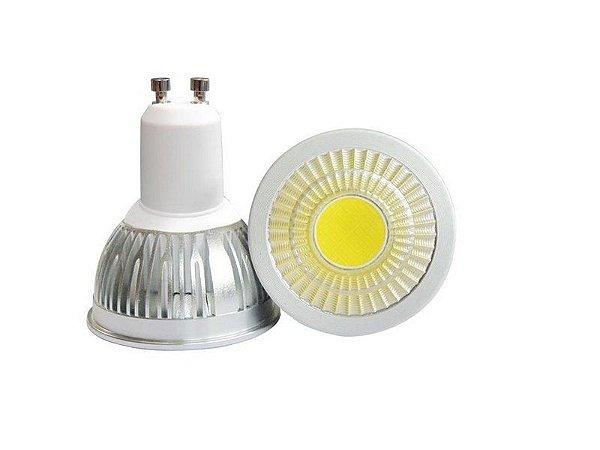 Lâmpada Dicroica LED COB GU10 5w Branco Frio 6000k