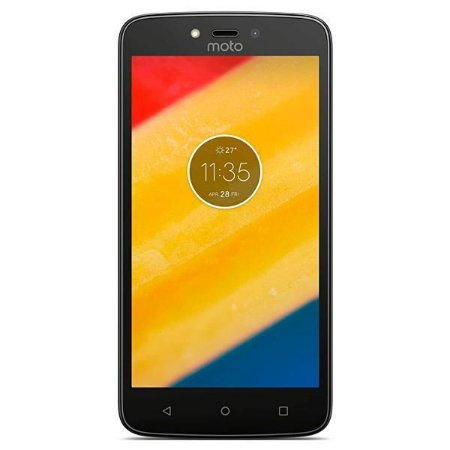 "Smartphone Motorola Moto C XT1750 Dual SIM 8GB Tela 5.0"" 5MP/2MP OS 7.0 - Preto"