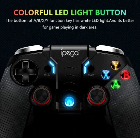 Controle Gamepad Ipega 9099 Android Ios Bluetooth Tablet Tv free fire