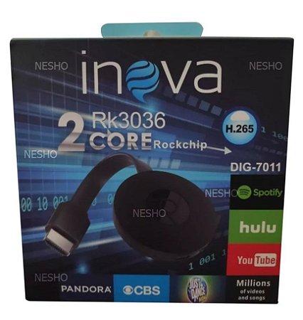 Novo Inova Rk3036 Chromecast 2 Hdmi 1080p Lancamento 2019