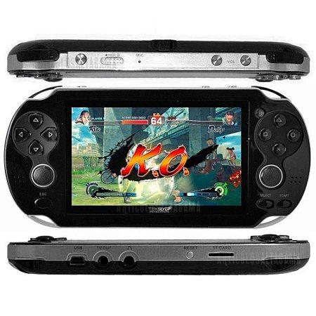Video Game Portátil Vários Jogos Nes Nintendo Sega Gba Mp3 x8