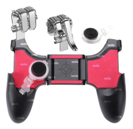 Controle Game Pad 4 Botoes Celular Android Gatilho Free Fire