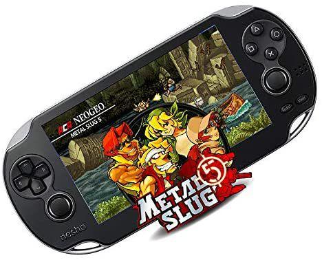 Video Game Portátil Vários Jogos Nes Nintendo Sega Gba Mp3 tela de 5.1