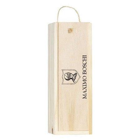 Caixa de Madeira para 1 garrafa de 750 mL