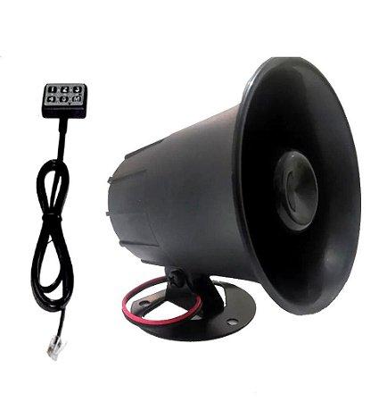 Buzina Eletrônica - 12 Toques Tiros, Sirene, Zueira e BRAIA !!!