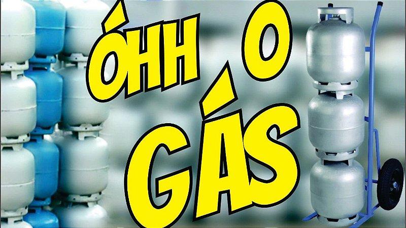 Buzina Eletrônica Grito Olha o Gás