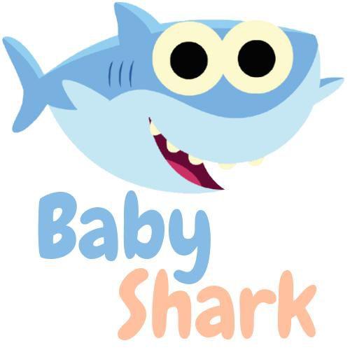 Buzina Eletrônica Baby Shark  - 02 Toques