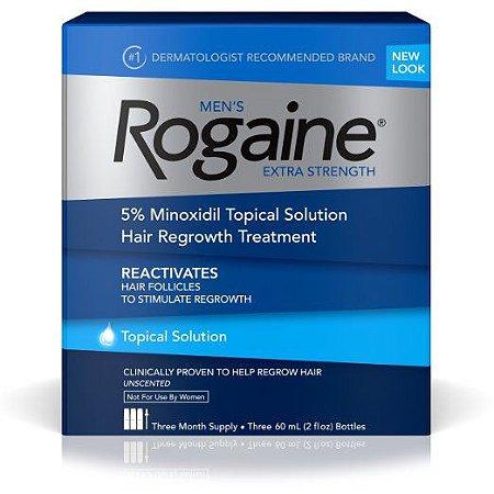 Rogaine Topical Solution 5% - Liquido - Caixa Lacrada Tres Meses