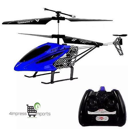 Helicóptero Controle Remoto Fq777 Emperor - Cinza