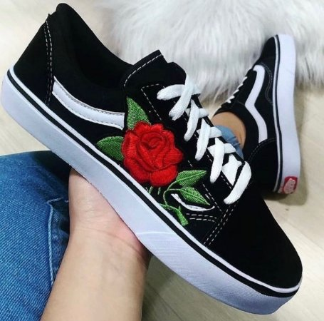 Tênis Vans Old Skool Flower