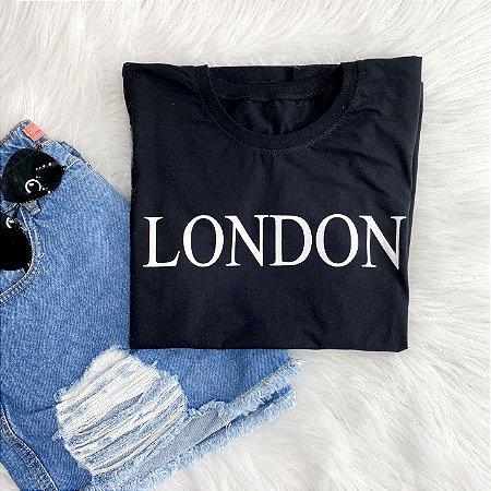 T-Shirt London Preta