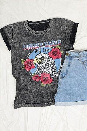 T-Shirt Lonely Eagle Marmorizada