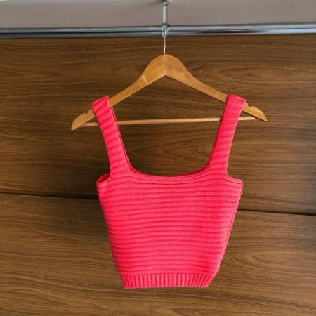 Cropped Modal Rosa Pink