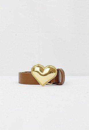 Cinto Coração Caramelo