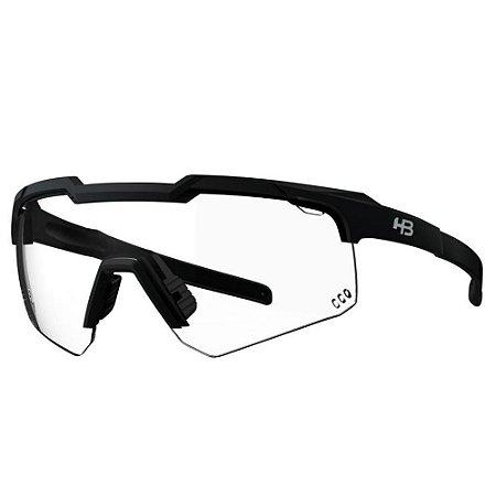 Óculos Solar HB Shield Evo Road Matte Black Photochromic