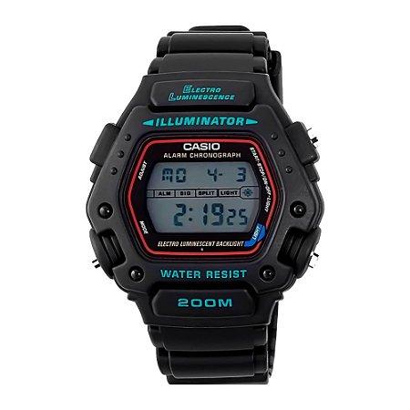 Relógio Casio DW-290-1VS Illuminator