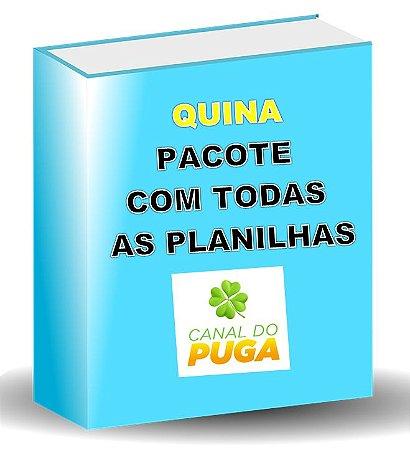 PACOTE DE PLANILHAS QUINA