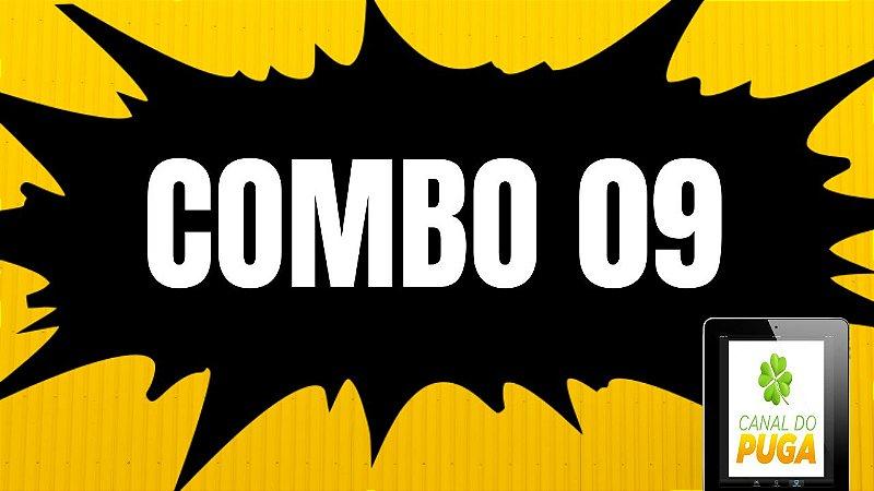 COMBO COM 05 PLANILHAS DA LOTOFÁCIL