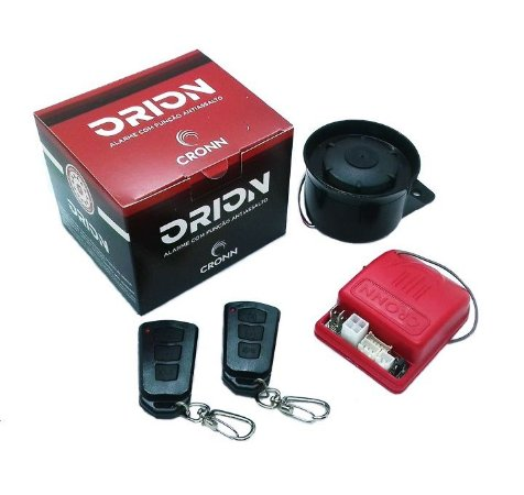 Alarme automotivo cronn orion com 2 controles remotos