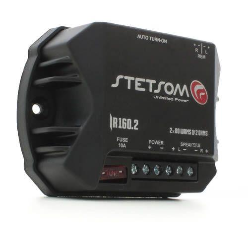 Módulo Amplificador Stetsom Iron Line IR160.2 160W RMS  2 Canais 2 Ohms Digital