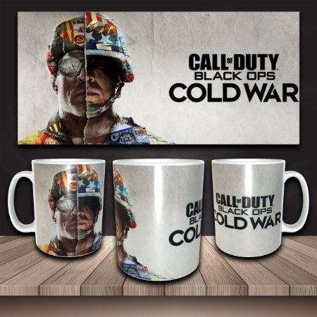 Caneca Call of Duty: BLack Ops - Cold War