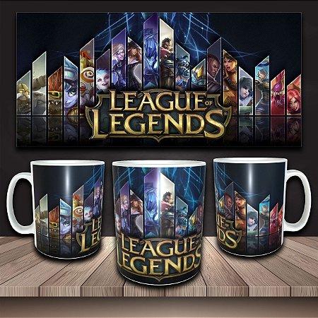 Caneca LoL - League of Legends