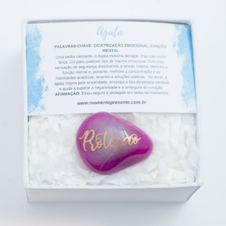 Desejo a você ... Pedras avulsas na Caixa Personalizada