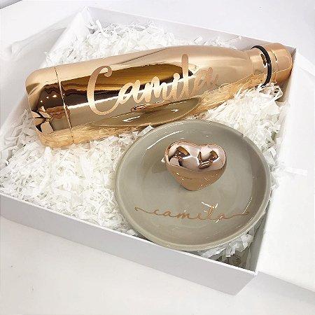 Gift Box Coração Rose