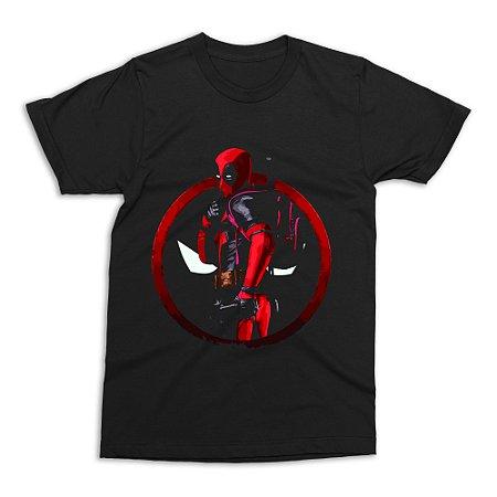 Camiseta Deadpool (Preta)