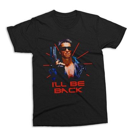 Camiseta Exterminador do Futuro (Realista)