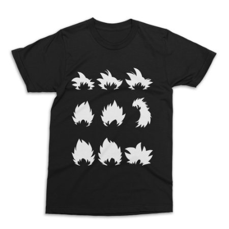 Camiseta Goku - Dragon Ball (Preta)