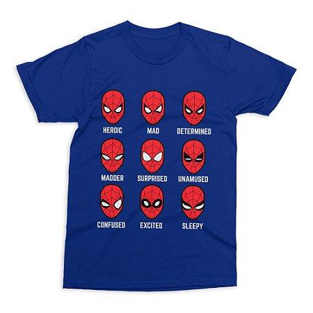 Camiseta Homem-Aranha (Azul)