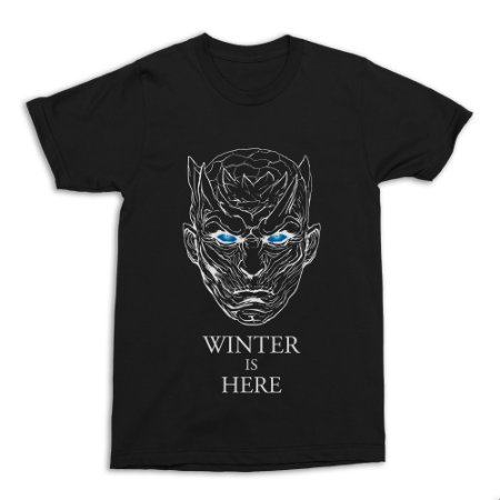 Camiseta Game of Thrones - Winter is Here