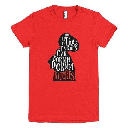 Camiseta The Handmaid's Tale - Feminina (Vermelha)
