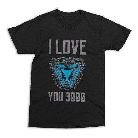 Camiseta Vingadores - I Love You 3000