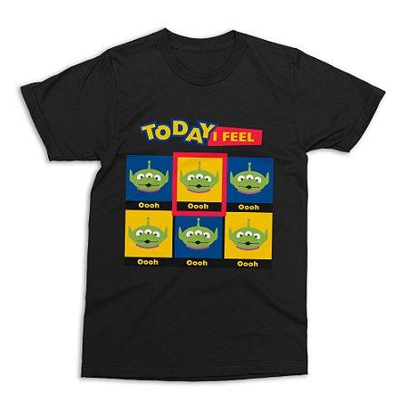 Camiseta Toy Story Aliens (Tamanho M)
