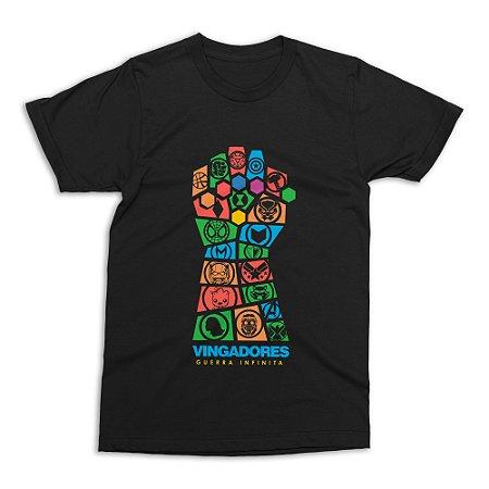 Camiseta Vingadores - Guerra Infinita (Tamanho G)