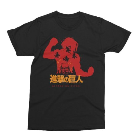 Camiseta Attack on Titan - Eren Yeager (Shingeki no Kyojin)