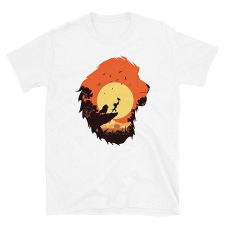 Camiseta Rei Leão (Branca)