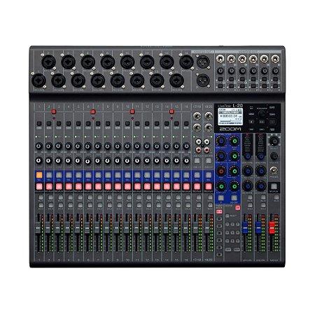 Zoom Mixer LiveTrak L-20