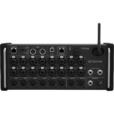 Midas MR18 - Mixer Digital de Rack com 18 entradas
